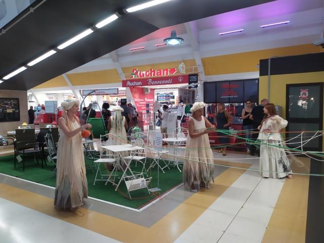 guerilla centro commerciale
